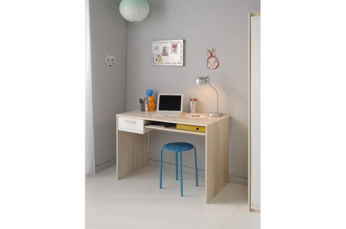 Bureau Pour Chambre Enfant Acacia Clair CHARLES Design Sur