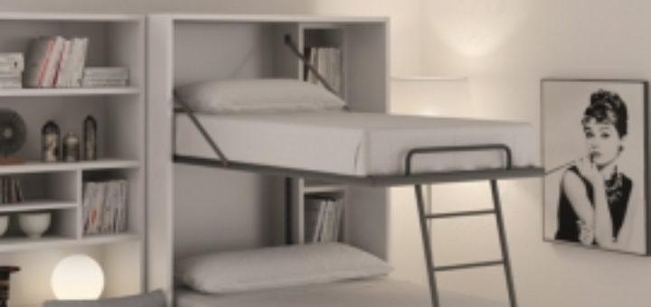 Lit Escamotable Superpose Pour Studio Sofag