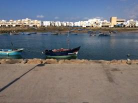 Trennung zwischen Rabat und der Nachbarstadt Sale