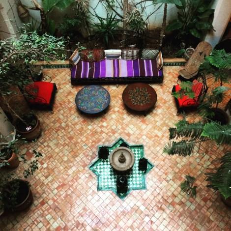 Unser Riad in Meknes