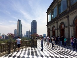 Chapultepec Palace in Mexiko Stadt