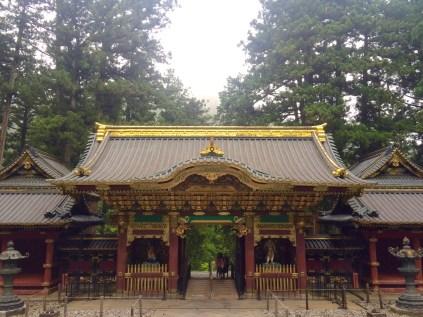 Eines der berühmten goldenen Tore der Anlage