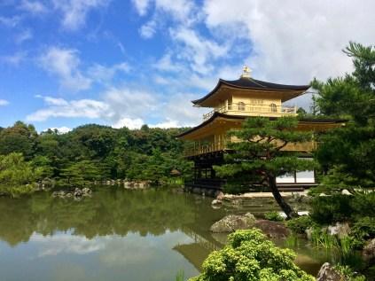 Kinkaku-ji, der goldene Tempel Kyotos