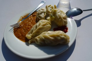 Nepali Momos on the first day at work