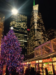 Christmas Village at Bryant Park