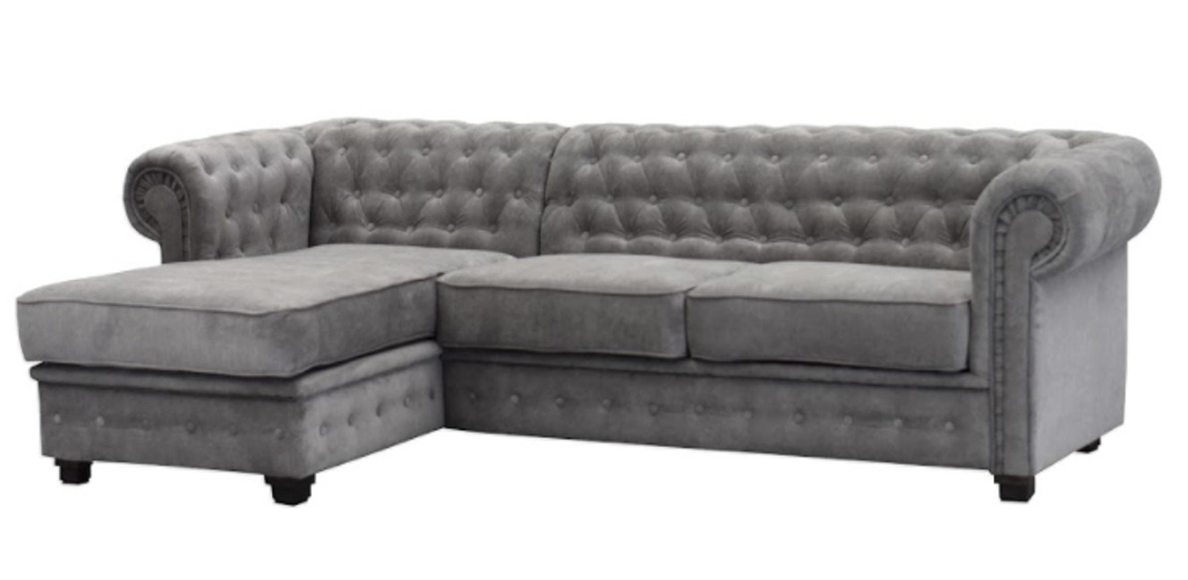chesterfield sofa bed traditional living room 3 seater red leather features
