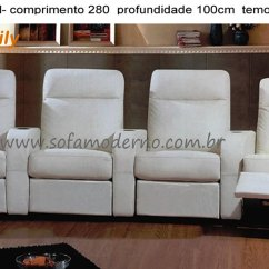 Home Theatre Sectional Sofas Futon Sofa Mattress Sofá Para Estofado Confortável Theater