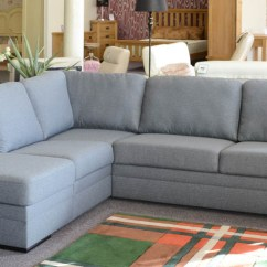 Duck Feather Corner Sofa Bernhardt Sleeper Reviews Sale Famous Furniture Clearance Grey