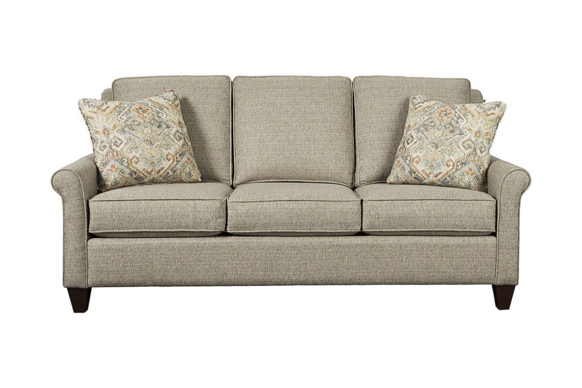 sofa and chairs bloomington mn single seater air with footrest the emily sofas of minnesota this beautiful features slim sock arms tall semi attached backs tapered legs also available are matching loveseat chair ottoman