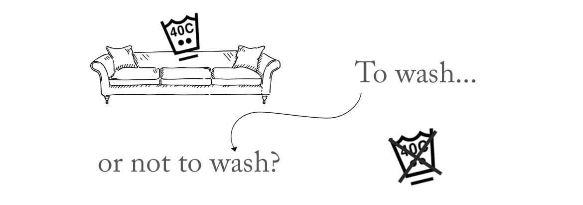How To Wash Dry Clean Only Sofa Covers
