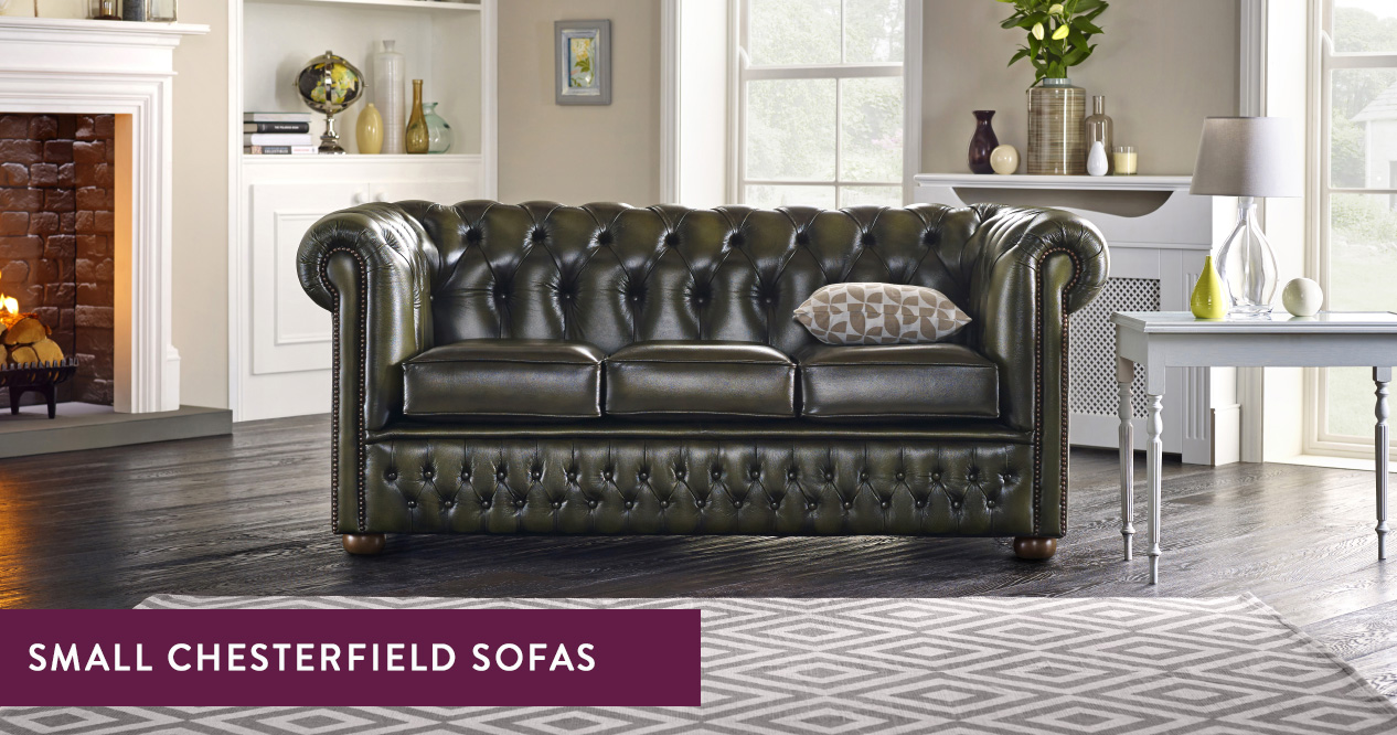 browse the range of small chesterfield sofas at sofas by saxon to find compact designs in a timeless style if you re looking to make the most of your floor