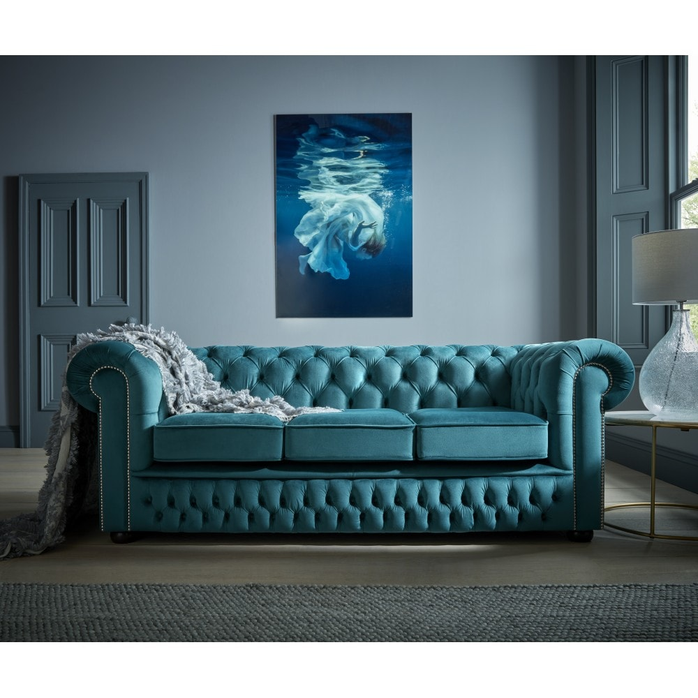 chesterfield sofa bed french connection zinc 4 seater 3 from sofas by saxon uk