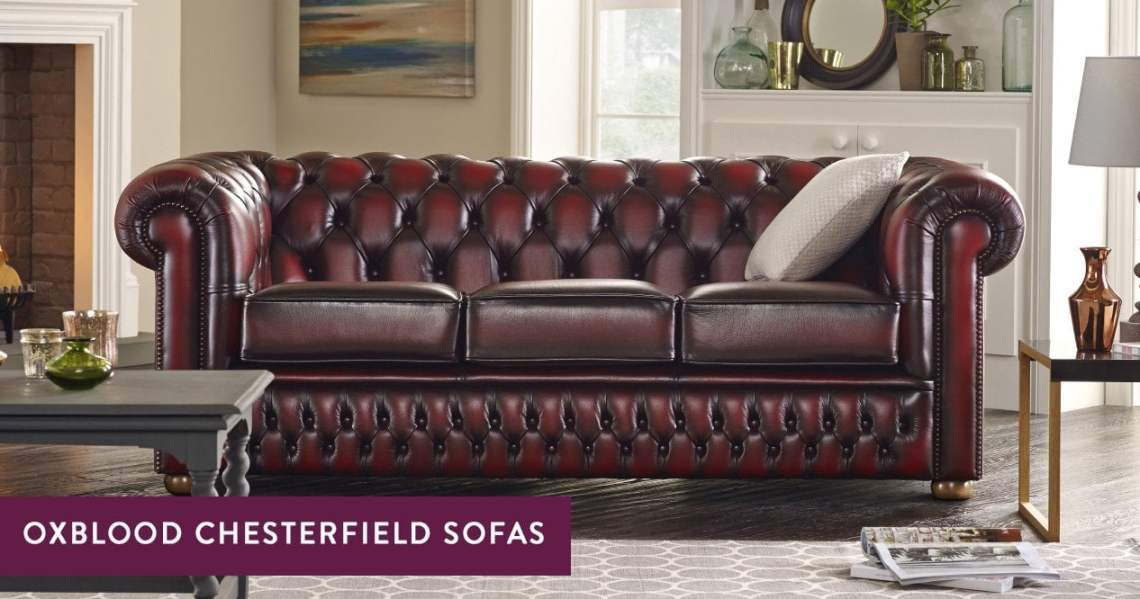 Oxblood Chesterfield Sofas Handmade In England Sofas By Saxon