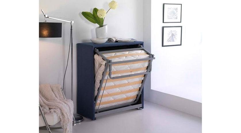 Mueble cama plegable tapizado  Sofas Cama Cruces