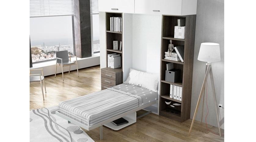 Mueble cama abatible con mesa  Sofas Cama Cruces