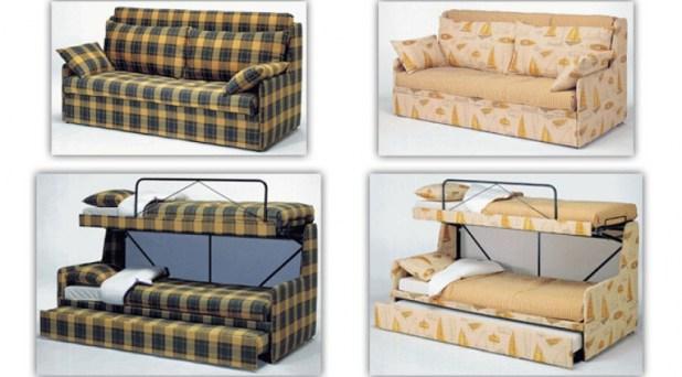 Sofa litera for Sofas camas cruces