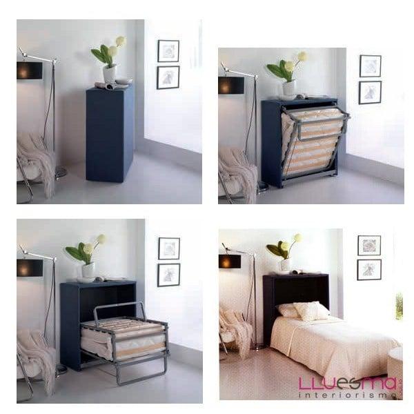 Mueble con cama plegable de calidad a buen precio - Sofas Cama ...