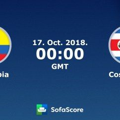 Sofascore Livescore Today Lazy Boy James Reclining Sofa Reviews Colombia Costa Rica Live Score Video Stream And H2h