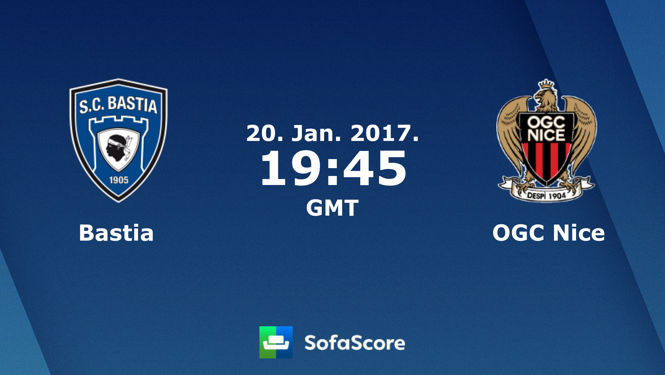 nice bastia sofascore sofa cama nido catalogo ogc live score video stream and h2h results