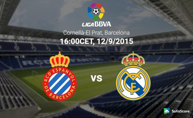Espanyol Vs Real Madrid Match Preview Live Stream