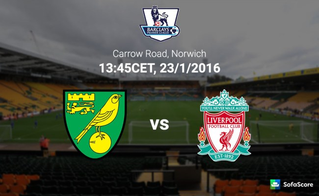 Norwich City Vs Liverpool Match Preview Live Stream