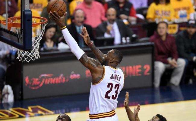 Lebron James Notches Triple Double In Game 2 Win