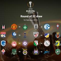 Live Sofascore Fundas Para Sofa Cama 2016/2017 Europa League Round Of 32 Draw - News