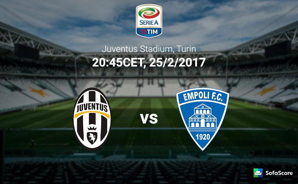 Juventus Vs Empoli Match Preview Team Info And Lineups