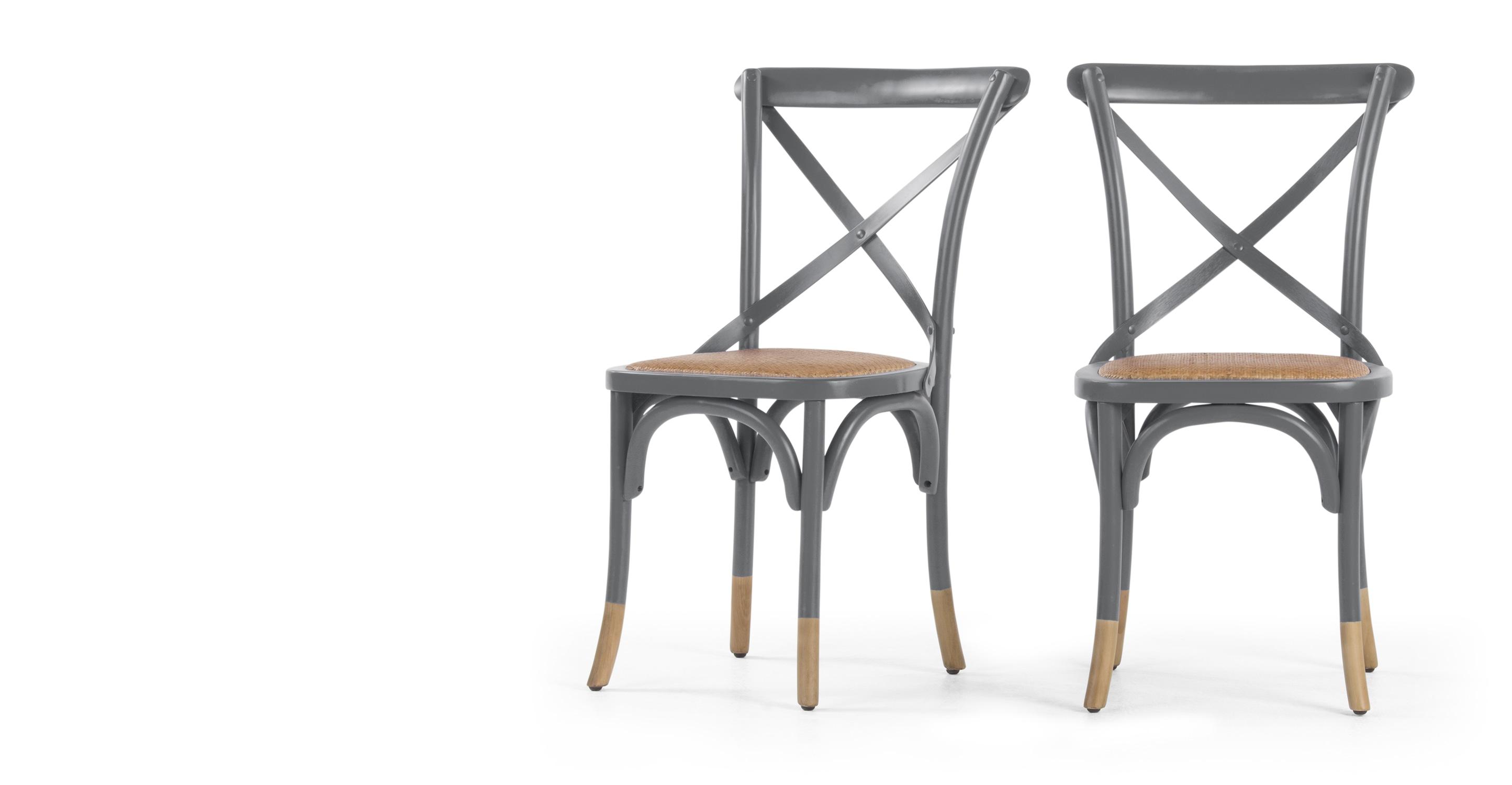 2 X Rochelle Dining Chairs Birch Grey Sofas Etc