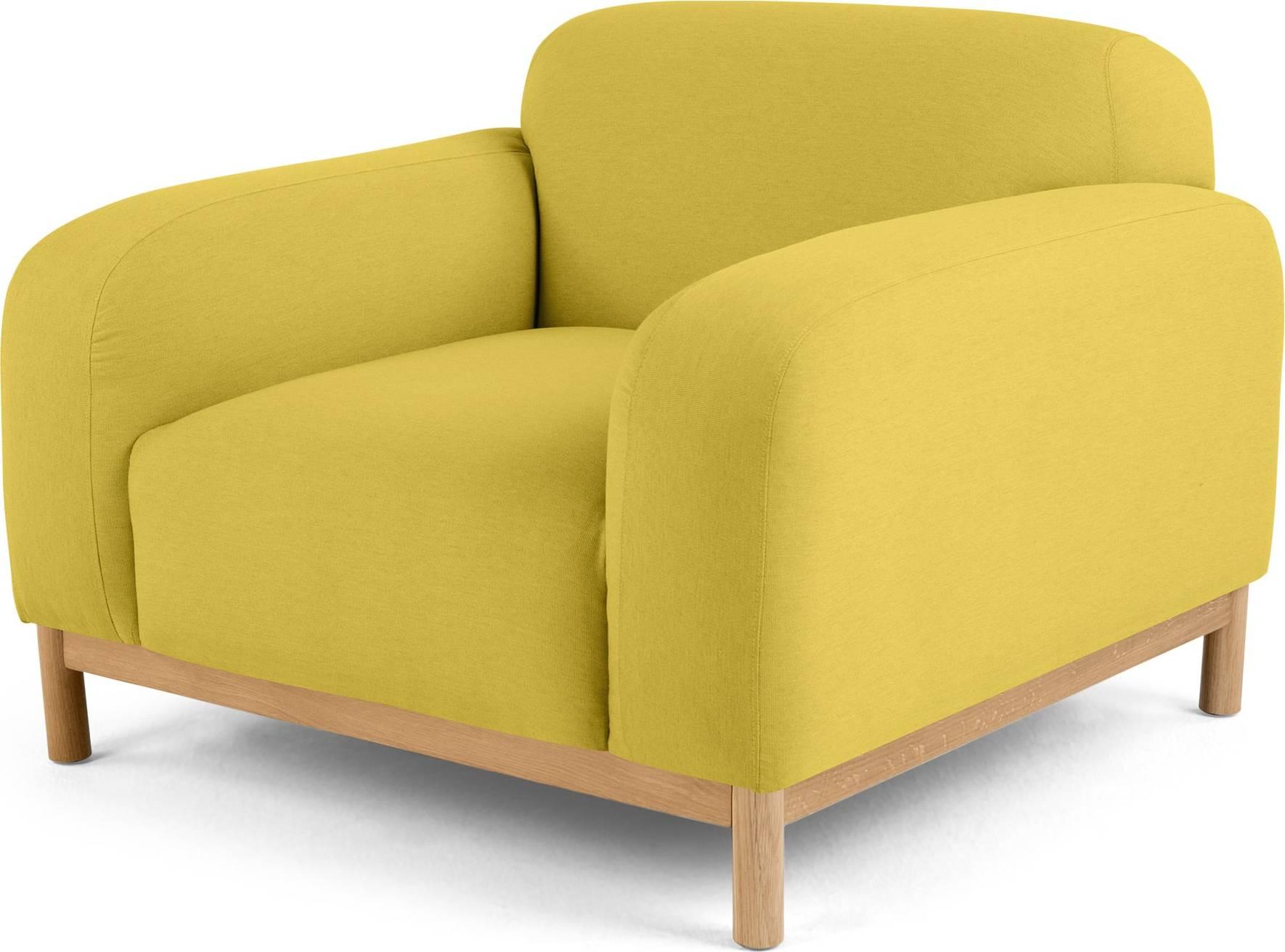 mustard yellow bean bag chair rocking harris tweed mackenzie  sofas etc