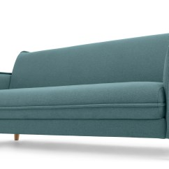 Sofa Etcetera Loose Cushion Slipcovers Tully Bed Sherbert Blue  Sofas Etc
