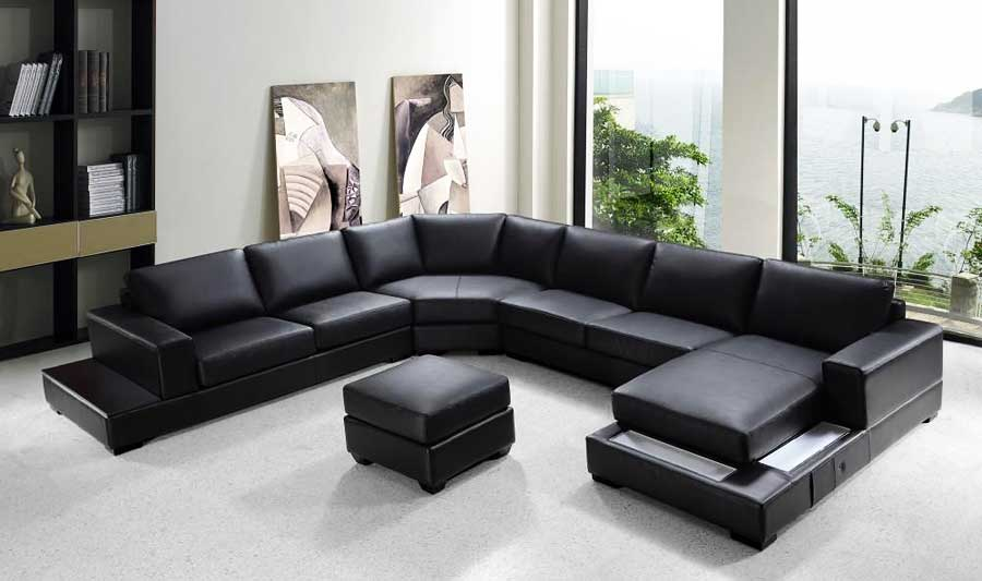 u shaped sofa leather couch or british english vg rz modern black sectional sectionals