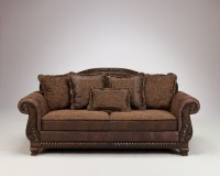 Bradington Truffle Sofa, Loveseat and Accent Chair Set | Sofas