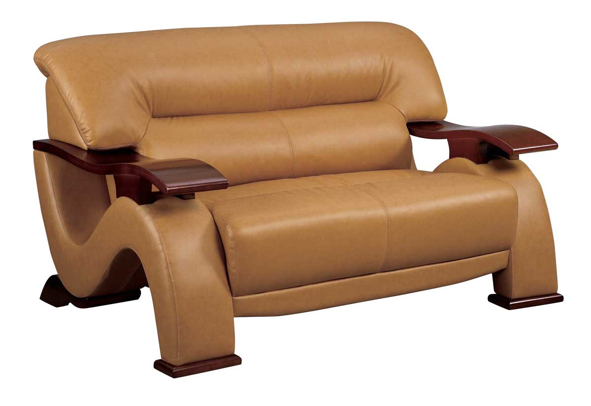 gl sofa tables contemporary spa deluxe bed love seat brown leatherette loveseats