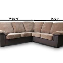 Ebay Used Corner Sofa Bed Living Room Wooden Furniture Sofas Amy Brown Fabric Jumbo Cord Brand New
