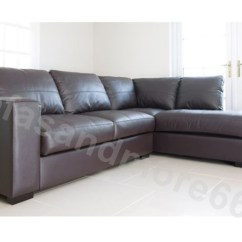 Leather Sofa Manufacturers In Wales White Resin Wicker Outdoor Westpoint Corner Brown Real Right Hand