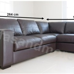 Leather Sofa Manufacturers In Wales Grey Crushed Velvet Sofas Uk Westpoint Corner Brown Real Right Hand