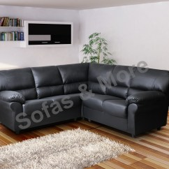 Leather Sofa Manufacturers In Wales Manstad Bed Cleaning Brand New Candy Corner Brown Or Black Fabric