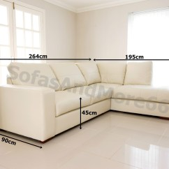 Cream Leather Sofa Set Uk Small Scale Table Westpoint Corner Real Right Hand Side