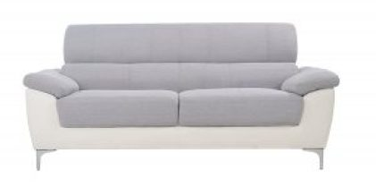 Modern-Two-Tone-Fabric-and-Bonded-Leather-Sofa-e1490304482841-300x149 Sofas On A Budget