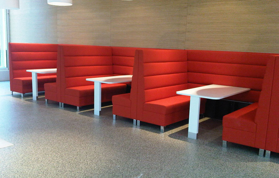 Booth Sofa Seating in IndiaBooth Sofa Seating Manufacturers in IndiaBooth Sofa Seating