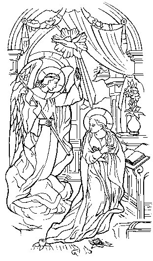 COLORING MYSTERY PAGE ROSARY « Free Coloring Pages