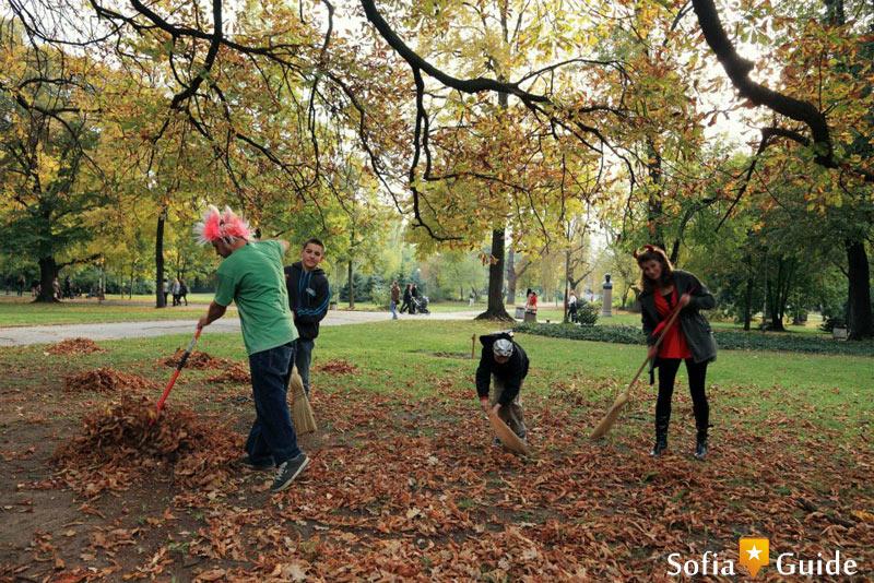 Park Borisova gradina  Sofia Guide