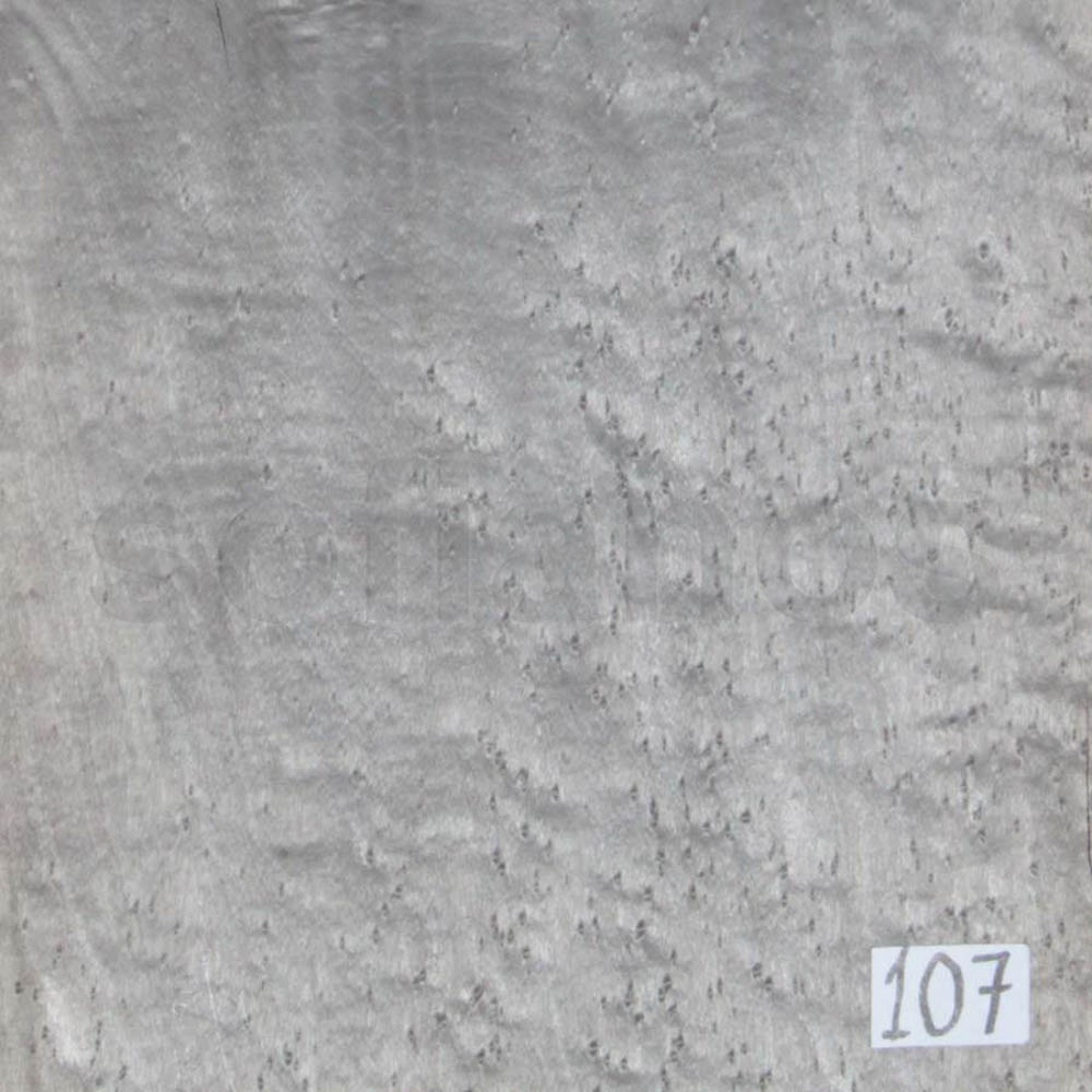 Selected bird's eye maple veneer Νο107. Colour grey