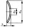 Rondelle ressort pour boulon elevateur 2