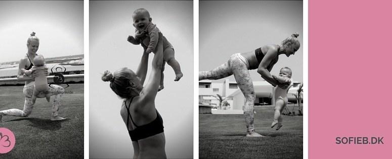 Brug din baby som træningsredskab