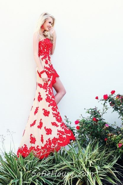 Short Back Long Bridesmaid Front Dresses