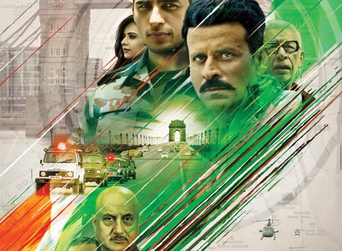 "Poster for the movie ""Aiyaary"""
