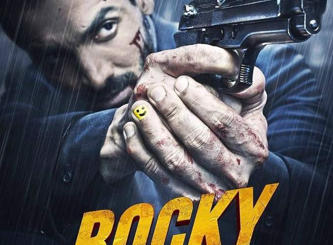 "Poster for the movie ""Rocky Handsome"""