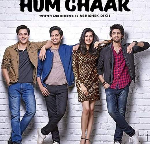 """Poster for the movie """"Hum Chaar"""""""